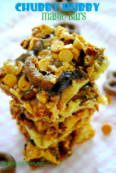 Chubby Hubby Magic Bars {Ben & Jerry's Week}