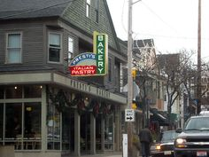 Cleveland's Little Italy is located in the Murray Hill part of the city.