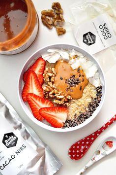 OBSESIÓN CUPCAKE: Gachas Fit de Avena, Porridge u Oatmeal
