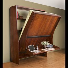 Office - HiddenBed Majestic Vertical Queen DIY Mechanism & Plans Kit - Broadened Horizons