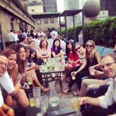 Happy Hour at Mad46 Rooftop Lounge!