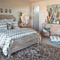 Ordinaire Gray Cheveron Bedroom Ideas | Chevron Fabric Design Ideas, Pictures,  Remodel, And Decor