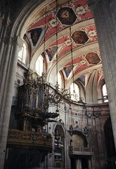 Lisbon Cathedral / . The cathedral was founded around 1150. Major earthquakes in 1344 and 1755 damaged the structure.