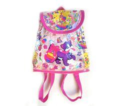 Lisa Frank Clear Magic Mini Backpack.