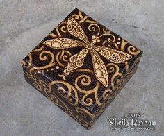 decorated with pyrography | Copyright 2014 Sheila Rayyan & Mother Spoon Studio, all rights ...