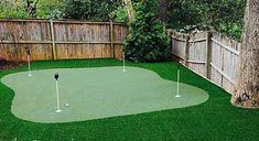 Want to step up your golf game by installing a synthetic turf putting green in your yard? Check out the Four Seasons Landscaping gallery for design ideas. Backyard Putting Green, Landscape Nursery, Green Photo, Green Ideas, House Doors, Walkways, Four Seasons, Golf Courses, Photo Galleries