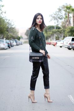 Embellished | Fake Leather blog