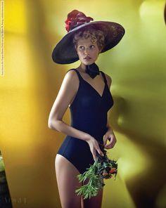 Toni Garrn for Vogue Korea (July 2015) by Hyea W. Kang  #HyeaWonKang #ToniGarrn #Vogue(Korea) #YeYoungKim