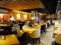 Tacos Restaurant - GIGA循绿 Interior Design restaurant called Tacos in Nanjing. Designed by RED Design Consultants Shanghai & Bangkok www.red-sh.com Taco Restaurant, Nanjing, Restaurant Interior Design, Red Design, Design Consultant, Shanghai, Bangkok, Tacos, China