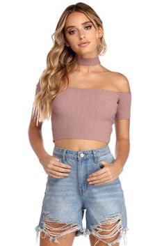 All Choked Up Crop Top Final Sale dd4cdf7bb