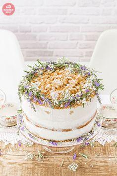 Hochzeitstorte, Modern Folk, Kräuterdeko Mehr