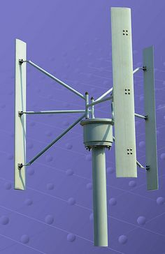 http://netzeroguide.com/vawt.html Vertical axis wind powered generator resources post. VAWT have a lot of upsides when compared to classic wind generators and are increasing in popularity among homeowners. Vertical axis wind turbines VAWT, wind generators