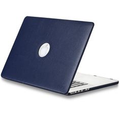 """Kuzy - NAVY BLUE LEATHER Hard Case for MacBook Pro 15.4"""" with Retina Display Model: A1398 (NEWEST VERSION) Shell Cover 15-Inch Leatherette - NAVY BLUE Kuzy http://www.amazon.ca/dp/B00J5NU0VW/ref=cm_sw_r_pi_dp_sXR8tb0TYH8K6"""