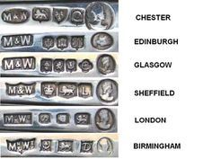British and Irish commemorative hallmarks - part an article for ASCAS - Association of Small Collectors of Antique Silver website Vintage Silver, Antique Silver, Antique Jewelry, Vintage Jewelry, Silver Jewelry, Boho Jewelry, Silver Ring, Jewelry For Her, Jewelry Making