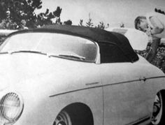 Jimmy and his first porsche