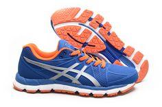 Men's Asics Gel Hyper 33 2 Running Shoes Blue/Silver T318N-4293