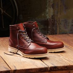 Wolverine X Filson Emerson Leather Wedge Boot