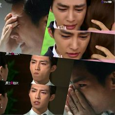 """Aaron Yan """"Fall In Love With Me"""" Ah, he is such a good actor! This drama makes me cry so much!"""