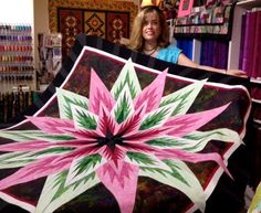 Feathered Star, Quiltworx.com, Made by Gayle Carter.