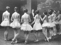 Swan Lake Ballet rehearsal on the Opera de Paris (© Alfred Eisenstaedt) 1930