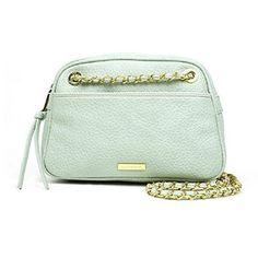 Liz Claiborne Carolyn Crossbody Bag New With Tags Mint Ice: Handbags: Amazon.com