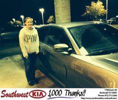 https://flic.kr/p/FWXhHe | #HappyBirthday to Katlyn from Steve Kravetz at Southwest KIA Rockwall! | deliverymaxx.com/DealerReviews.aspx?DealerCode=TYEE