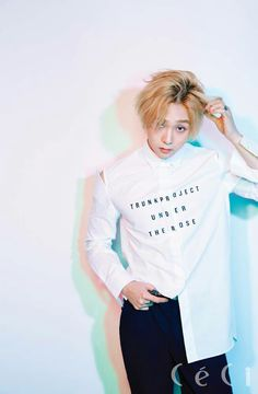 Hyojong was the one member who really caught my eye, its hard to believe he almost wasn't part of the group.