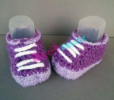 Zapatos bebé de ganchillo