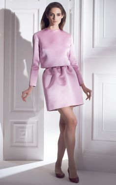Esme Vie Fall/Winter 2014 In love with this look. A perfect birthday dinner attire. Elegant and feminine
