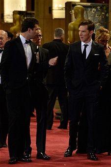 Christoph Waltz, Benedict Cumberbatch
