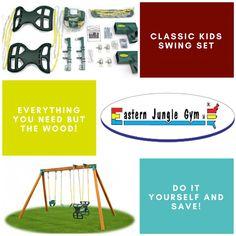 Swing Sets For Kids, Kids Swing, Swing Set Hardware, Jungle Gym, Tools, Type, Instruments, Swings For Kids, Swings