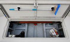 lazarette fender storage - Google Search