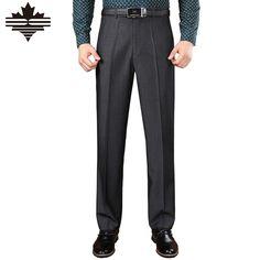 Mu Yuan Yang 2016 New Men's Long Suit Pants Autumn and Winter Casual Suit Pants For Male Business Straight Trousers 3 Color Casual Suit, Casual Pants, Straight Trousers, Suit Pants, Guy Pictures, New Man, Colorful Pictures, Mens Suits, Gentleman