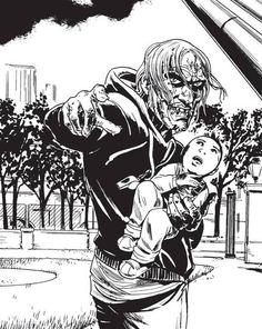 Darren Shan - Author Zom-B illustration