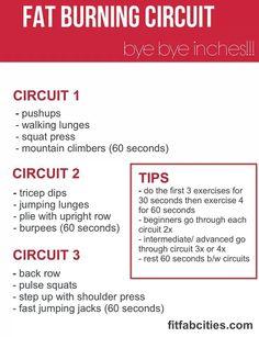 3 circuit workout