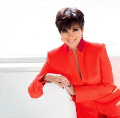 Kris Jenner poses in raunchy black lace outfit for magazine shoot as she reveals she wants to feel sexy 'forever' Kourtney Kardashian, Kardashian Family, Kardashian Jenner, Robert Kardashian, Short Haircuts With Bangs, Cute Hairstyles For Short Hair, Short Hair Cuts, Kendall Jenner, Kris Jenner Style