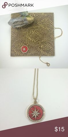 Star Pendant Anne Klein gold tone necklace. Used once. Great condition. Adjustable length. Anne Klein Jewelry Necklaces