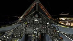 Blackbird cockpit