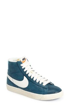 Free shipping and returns on Nike 'Blazer' Vintage High Top Basketball Sneaker (Women) at Nordstrom.com. Take a time machine back to 1973 with a legendary suede-upper high-top basketball sneaker first popularized by George 'The Iceman' Gervin.