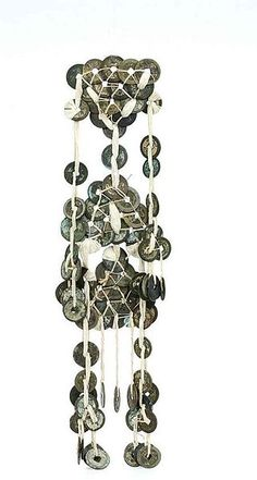 Coin Jewelry, Jewellery, File, Silver Coins, Wind Chimes, Chandelier, Ceiling Lights, Outdoor Decor, Jewelery