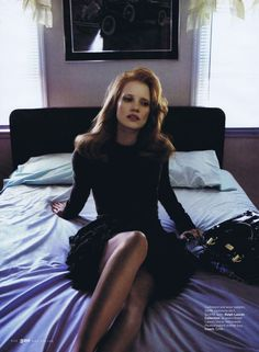 Jessica Chastain by Annie Leibovitz
