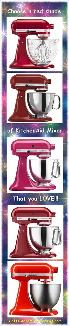 KitchenAid Artisan Mini Series Tilt Head Stand Mixer, 3.5 Quart, Empire Red    Head Stand, Kitchenaid Artisan And Stand Mixers