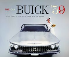 1959 Buick ad. Gorgeous car.