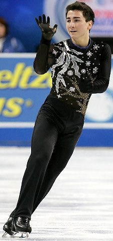 Max Aaron -  - Men's Figure Skating / Ice Skating dress inspiration for Sk8 Gr8 Designs.