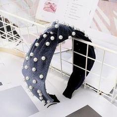 Fashion Women Cute Headband Alice Band Top Knot  plain Headband Twist Hairband