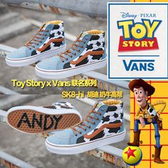 Vans Toy Story Cow High Gang Men Women Shoes ZY043  Vans. Wpi sensor ·  oldskool ac3a2e586
