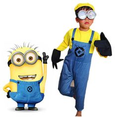 Hot trending item: Children's Minion... Check it out here! http://jagmohansabharwal.myshopify.com/products/childrens-minion-costume-kids-anime-cosplay-costumes-for-boys-girls-minion-costume-despicable-me-halloween-suits-with-glasses?utm_campaign=social_autopilot&utm_source=pin&utm_medium=pin