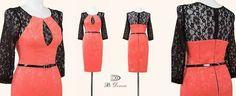 MODEL NOU! Designul deosebit al rochiei din jaquard si dantela este special creat pentru femeia senzuala puternica si increzatoare in fortele proprii. Materiale: jacquard si dantela. Masuri: 40-42-44-46. Detalii pe site-ul Per Donna: http://ift.tt/1SXkjv7 #sepoartaperdonna #rochie #rochiejaquard www.perdonna.ro