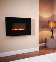 Rapture Flamonik Wall Mounted Electric Fire, From Celsi