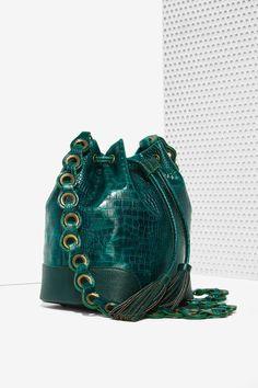 Pun Croc Bucket Bag - Accessories | Bags + Backpacks